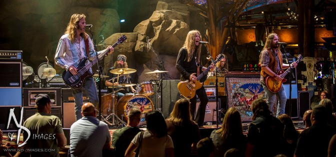 Blackberry Smoke Leaves a Scar on Mohegan Sun